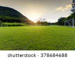 Soccer Field In The Rural