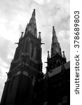 lutheran church of saint john ... | Shutterstock . vector #378689803