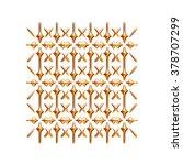 ornament elements  vintage gold ...   Shutterstock . vector #378707299