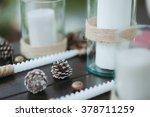 Pine Cones Wedding Reception