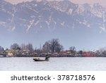 morning scene of nigeen lake...   Shutterstock . vector #378718576