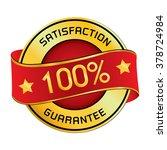 satisfaction   guarantee logo.... | Shutterstock .eps vector #378724984