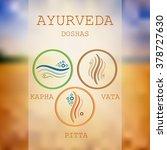 ayurveda vector illustration.... | Shutterstock .eps vector #378727630