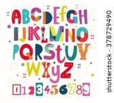 funky abc   Shutterstock .eps vector #378729490
