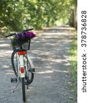 Beautiful Bouquet And A Bicycl...