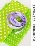 Purple Ribbon Lacings  2 Piece...