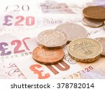 British Pounds Banknotes And...