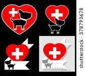 hospital  pharmacy for dogs.... | Shutterstock .eps vector #378793678