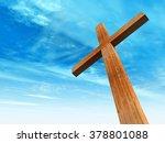 concept or conceptual wood...   Shutterstock . vector #378801088