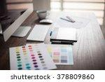 computer  pen tablet  color...   Shutterstock . vector #378809860