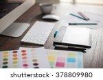 shallow depth of field closeup... | Shutterstock . vector #378809980