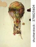 Strange Steampunk Balloon Whic...
