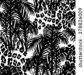 tropical fashion seamless print ...   Shutterstock .eps vector #378826009