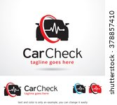 car check logo template design... | Shutterstock .eps vector #378857410