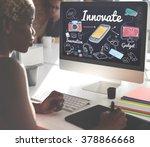 innovate innovation invention...   Shutterstock . vector #378866668