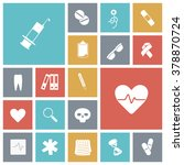 flat design icons for medical. | Shutterstock . vector #378870724