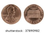 Abraham Lincoln Cent Coin  Bot...