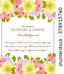 vintage delicate invitation... | Shutterstock .eps vector #378915760