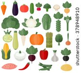 collection of vector... | Shutterstock .eps vector #378948910