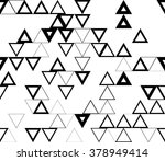 seamless geometric pattern with ... | Shutterstock .eps vector #378949414