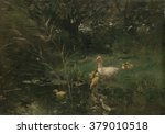 Ducklings  By Willem Maris  C....