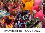 wayuu handcrafted mochilas bags ... | Shutterstock . vector #379046428