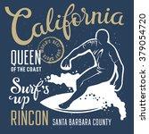 surfing artwork. surf's up.... | Shutterstock .eps vector #379054720