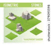 isometric stones with... | Shutterstock .eps vector #379095598