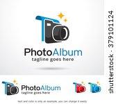 photo album logo template... | Shutterstock .eps vector #379101124