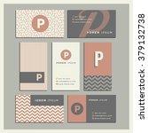 set of coordinating business... | Shutterstock .eps vector #379132738