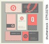 set of coordinating business... | Shutterstock .eps vector #379132786