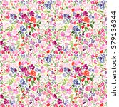 Seamless Pattern With A Bright...