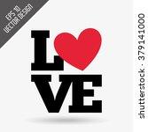 love card design  | Shutterstock .eps vector #379141000
