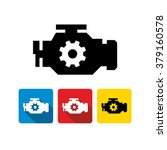 car engine icon  | Shutterstock .eps vector #379160578