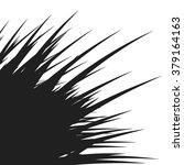 abstract black shape  vector... | Shutterstock .eps vector #379164163