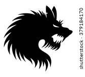 vector sign. werewolf. | Shutterstock .eps vector #379184170