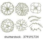 vector contour image of a... | Shutterstock .eps vector #379191724