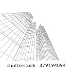 architecture sketch | Shutterstock . vector #379194094