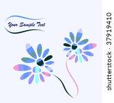 floral background | Shutterstock . vector #37919410