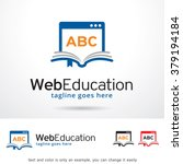 web education logo template... | Shutterstock .eps vector #379194184