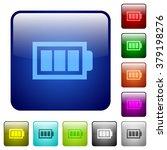 set of full battery color glass ...