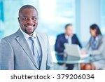 businessman in suit | Shutterstock . vector #379206034