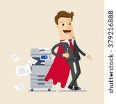 illustration of employee ... | Shutterstock .eps vector #379216888
