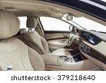car interior luxury. interior... | Shutterstock . vector #379218640