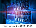 network servers in data room... | Shutterstock . vector #379219960