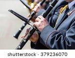 group of clarinet players of... | Shutterstock . vector #379236070