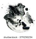 black compressed charcoal... | Shutterstock . vector #379250254