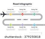 flat business presentation... | Shutterstock .eps vector #379250818