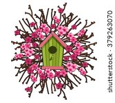 A Birdhouse In The Blooming...