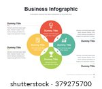 flat business presentation... | Shutterstock .eps vector #379275700